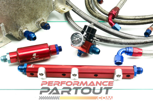 Complete fuel system - Aeromotive w/ 5gal cell