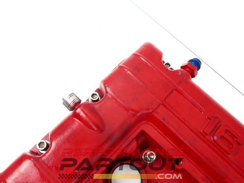 Valve cover & JMF delux oil catch can set -6AN