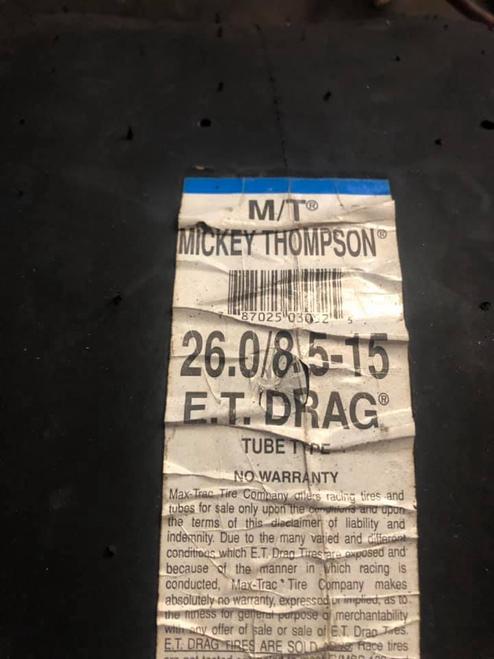 NEW Mickey Thompson ET Drag Slick 26x8.5x15 set