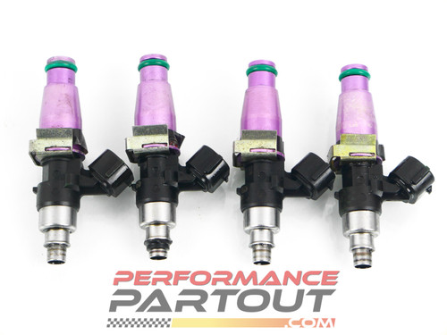 2200cc High-Z injector set w/ plugs