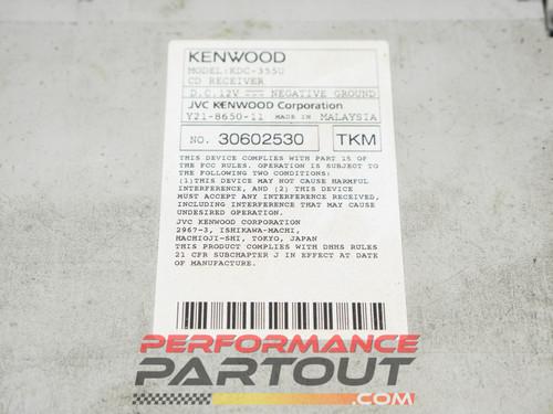 Kenwood KDC-355U headunit