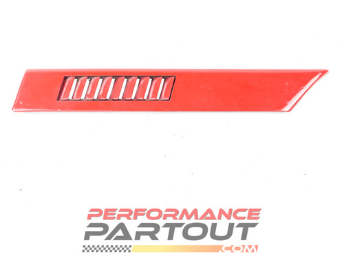 Trim body side 1/4 panel molding Talon 90-91 Left Red