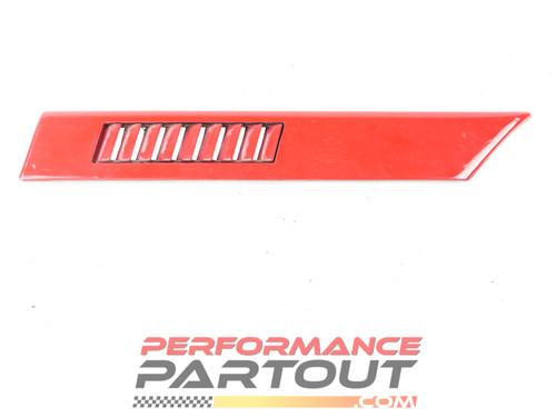 Trim body side 1/4 panel molding Talon 90-91 Left Red