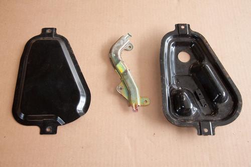 Fuel pump metal covers GVR4