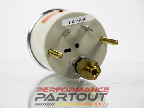AutoMeter 6103 Cobalt Mechanical 30psi Boost Vacuum Gauge