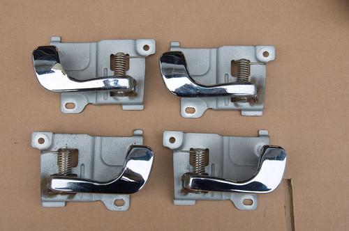 Door interior latch handle set GVR4 chrome