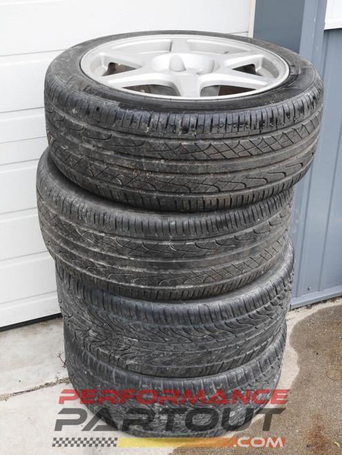 "Evo8 OEM 17"" wheel set #2"