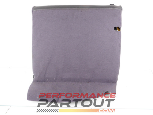 Seat Rear Upper Right 2G DSM Grey leather