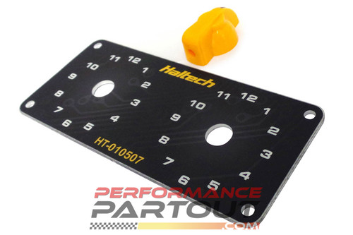 Dash Knob Panel Kit Haltech Dual