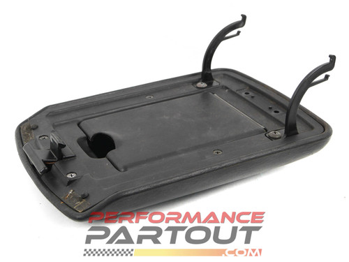 Center console leather armrest 2G DSM Black
