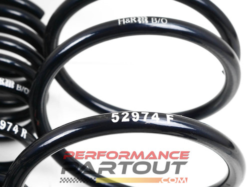 H&R springs for Galant VR4