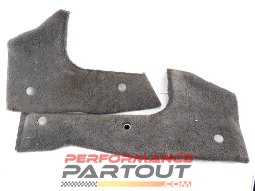 Center console side covers 1G DSM grey
