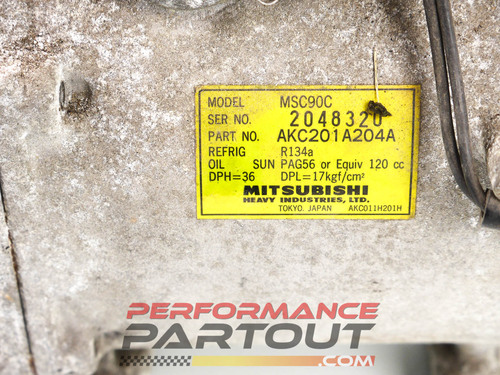 AC compressor 2G DSM AKC201A204A