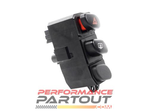 Defrost hazard switch 2G DSM Black