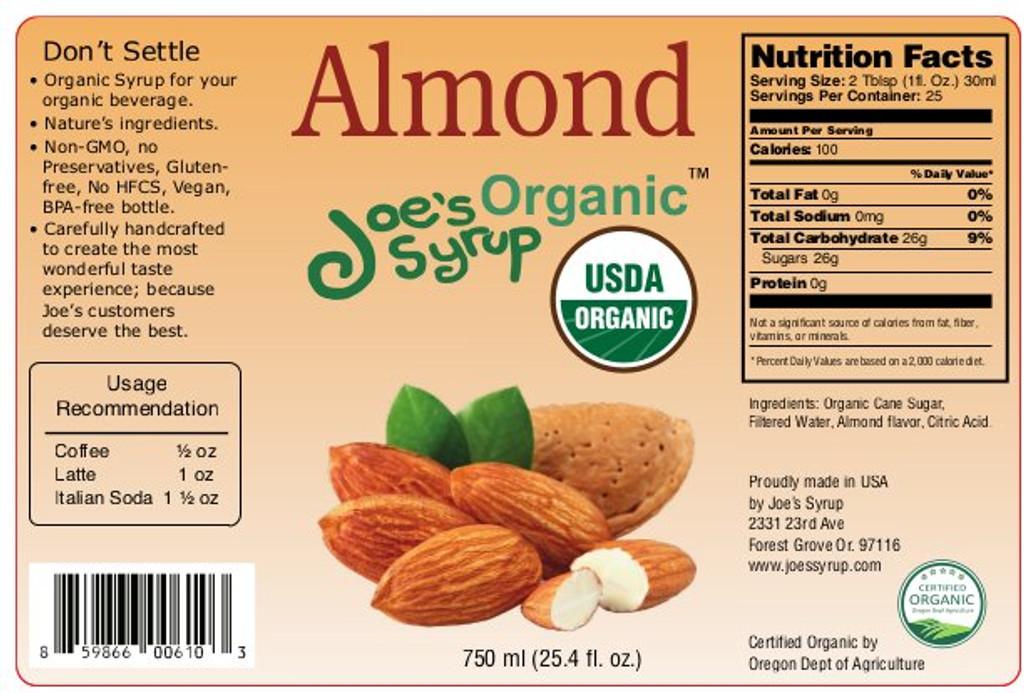 USDA Organic ALMOND