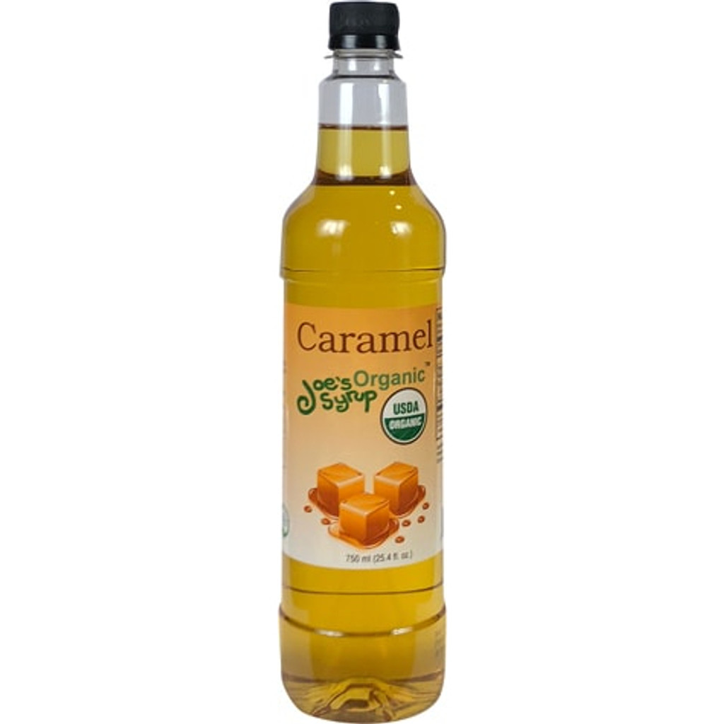 Joe's Organic Caramel Syrup.The smooth, creamy taste of caramel. This classic is a favorite of coffee drinkers the world over.