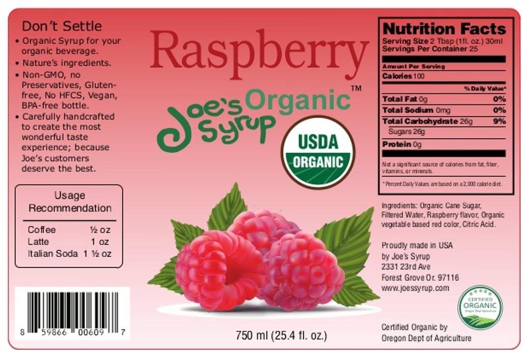USDA Organic RASPBERRY