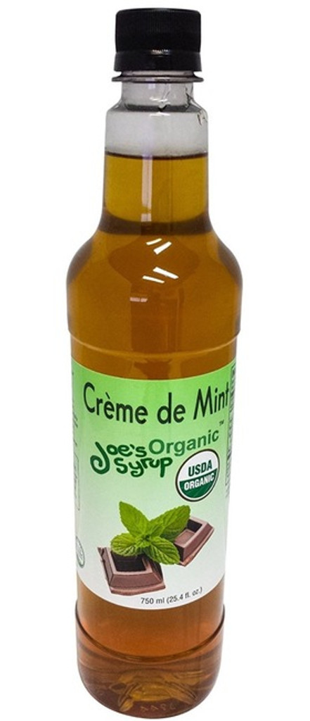 The cool snap of mint will bring out the best in summer drinks as well as warm your mocha in winter.  Joe's Organic Creme de Mint is made from pure Organic cane sugar and all natural mint.