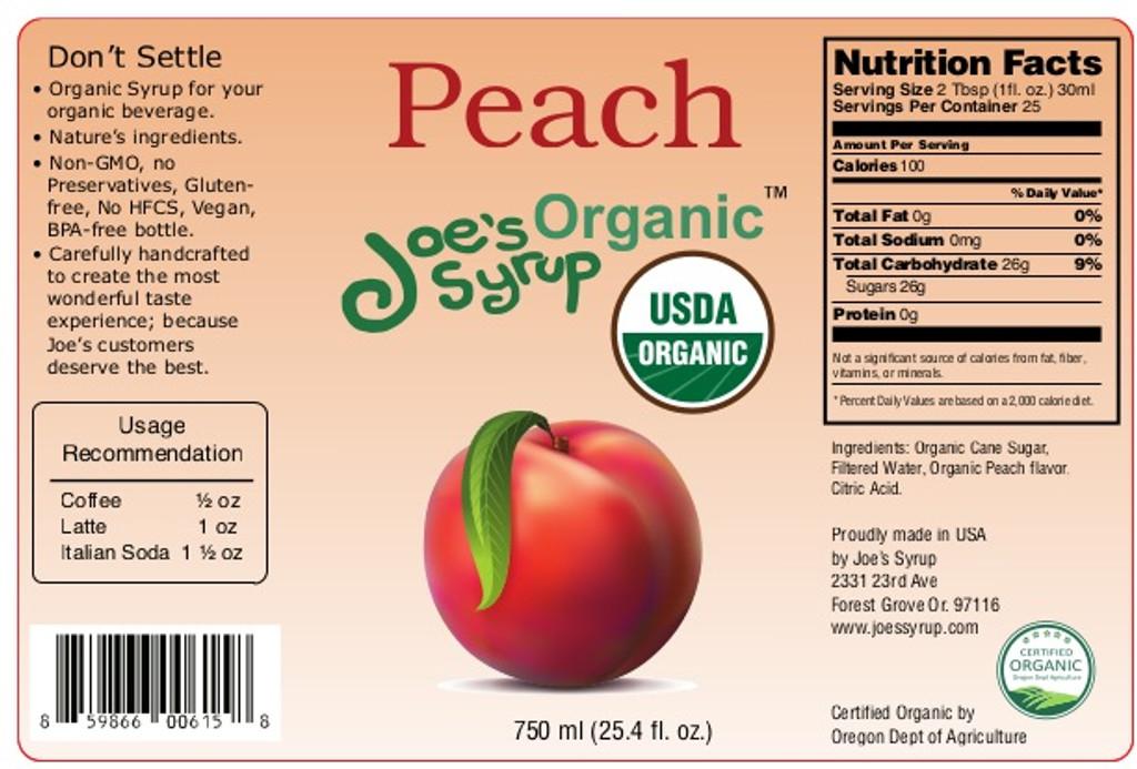 USDA Organic PEACH