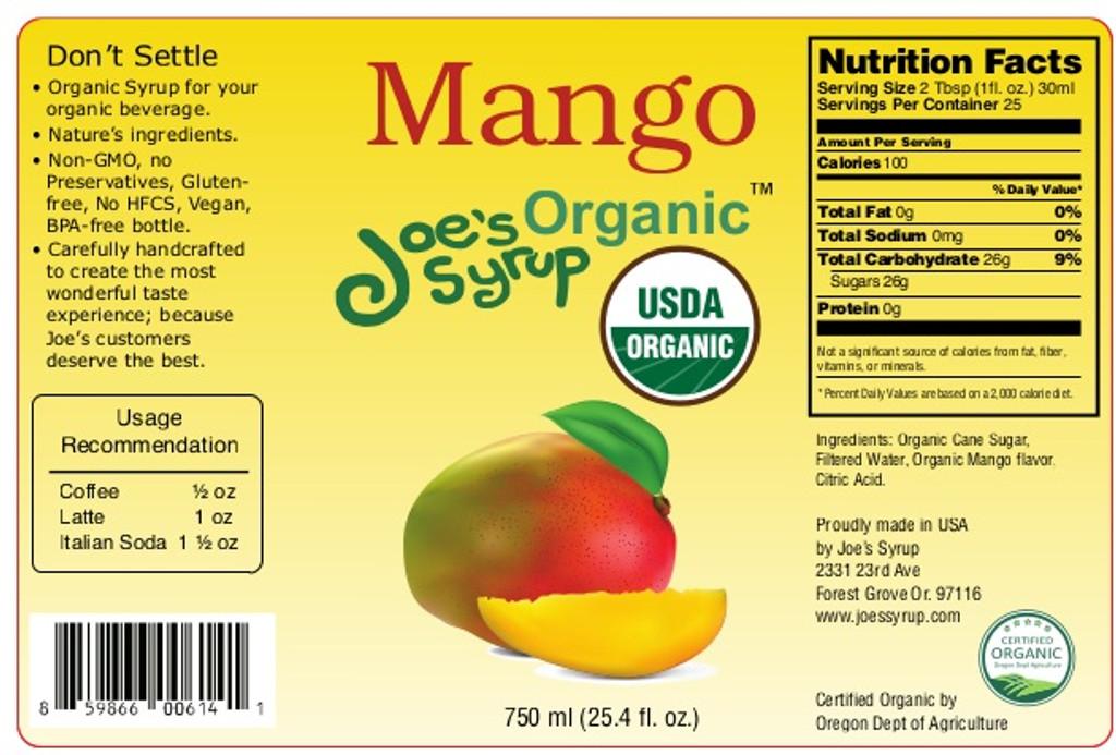 USDA Organic MANGO