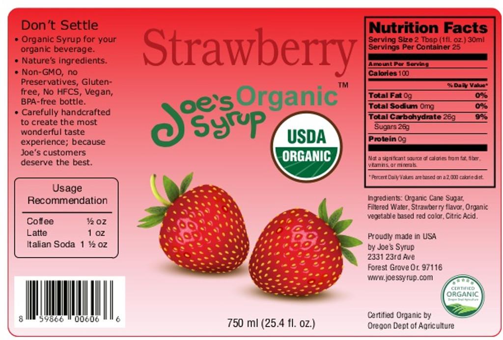 USDA Organic STRAWBERRY