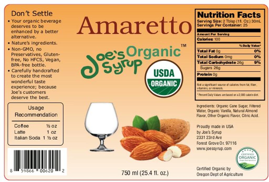 USDA Organic Amaretto