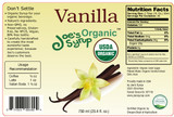USDA Organic Pure  VANILLA