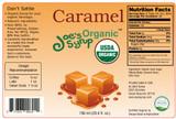 USDA Organic Caramel Syrup