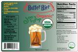 USDA Organic BUTTER BIER