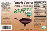 Half Gallon USDA Organic Dutch Chocolate Sauce