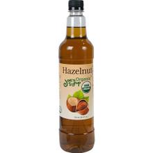 Bottle of Joe's Organic Hazelnut Syrup 750ml