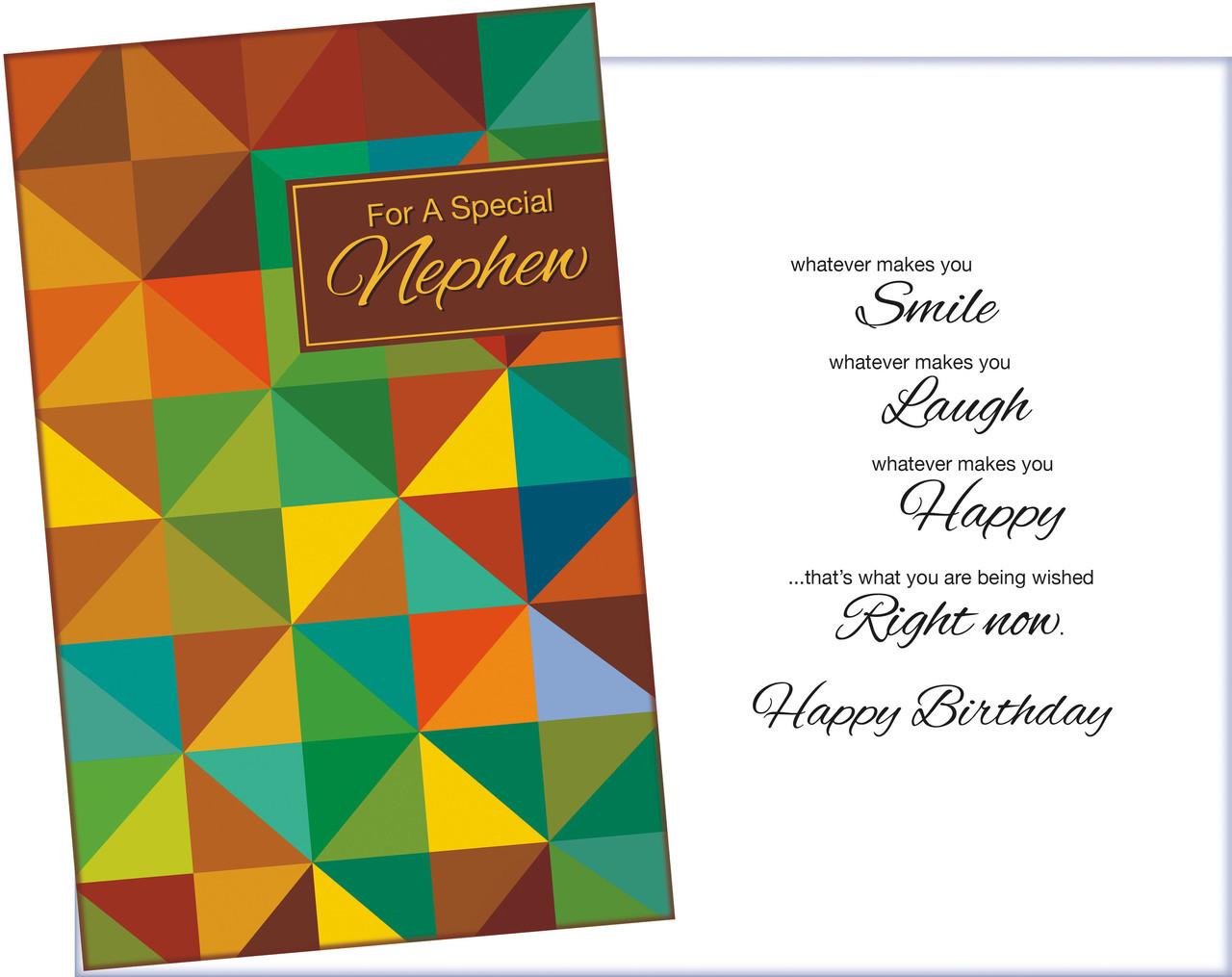 88104 Six Birthday Nephew Greeting Cards Envelopes