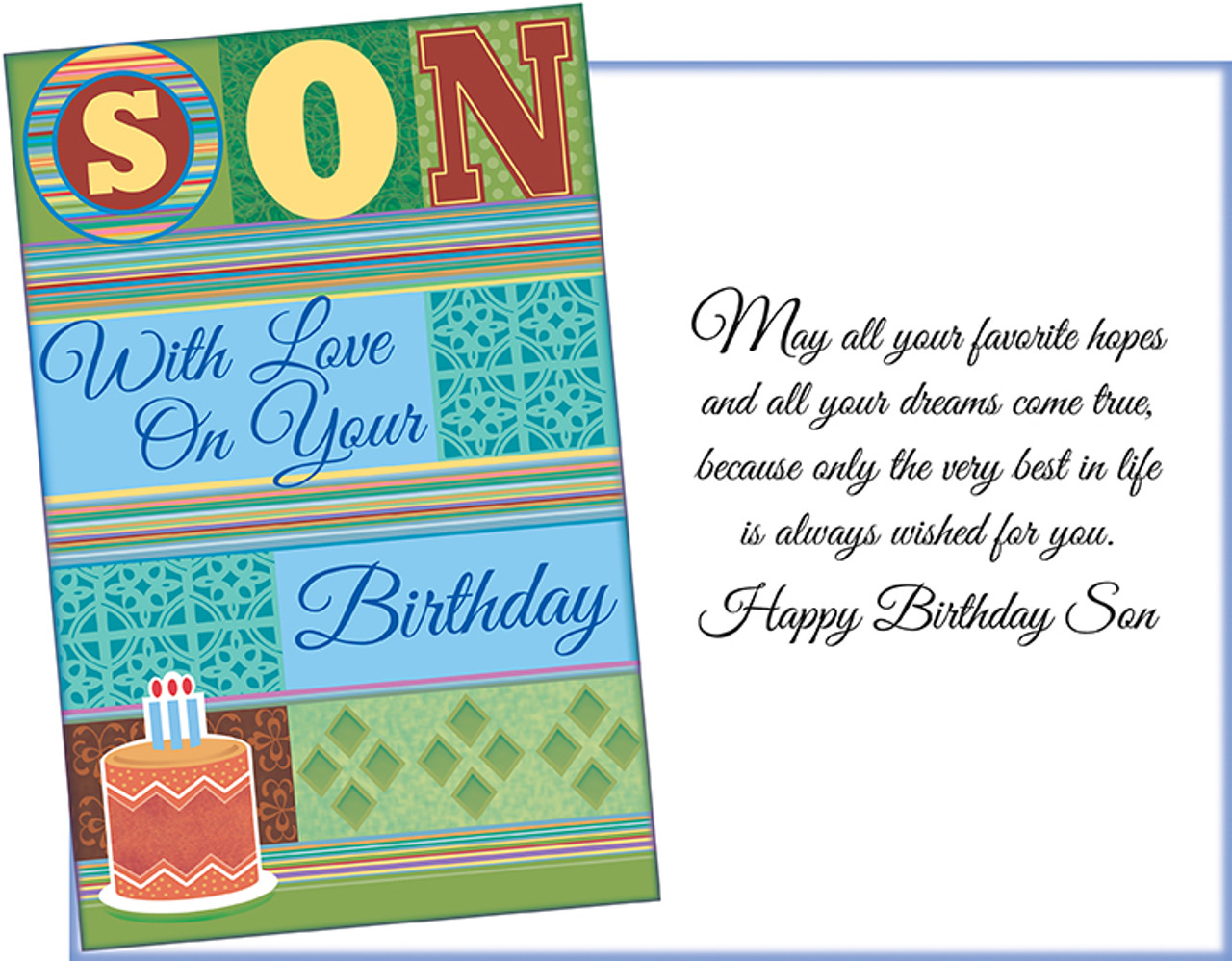 Wholesale Son Greeting Card Made In Chicago Stockwellgreetings