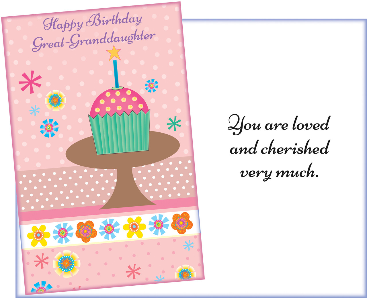 Wholesale Great Granddaughter Greeting Cards