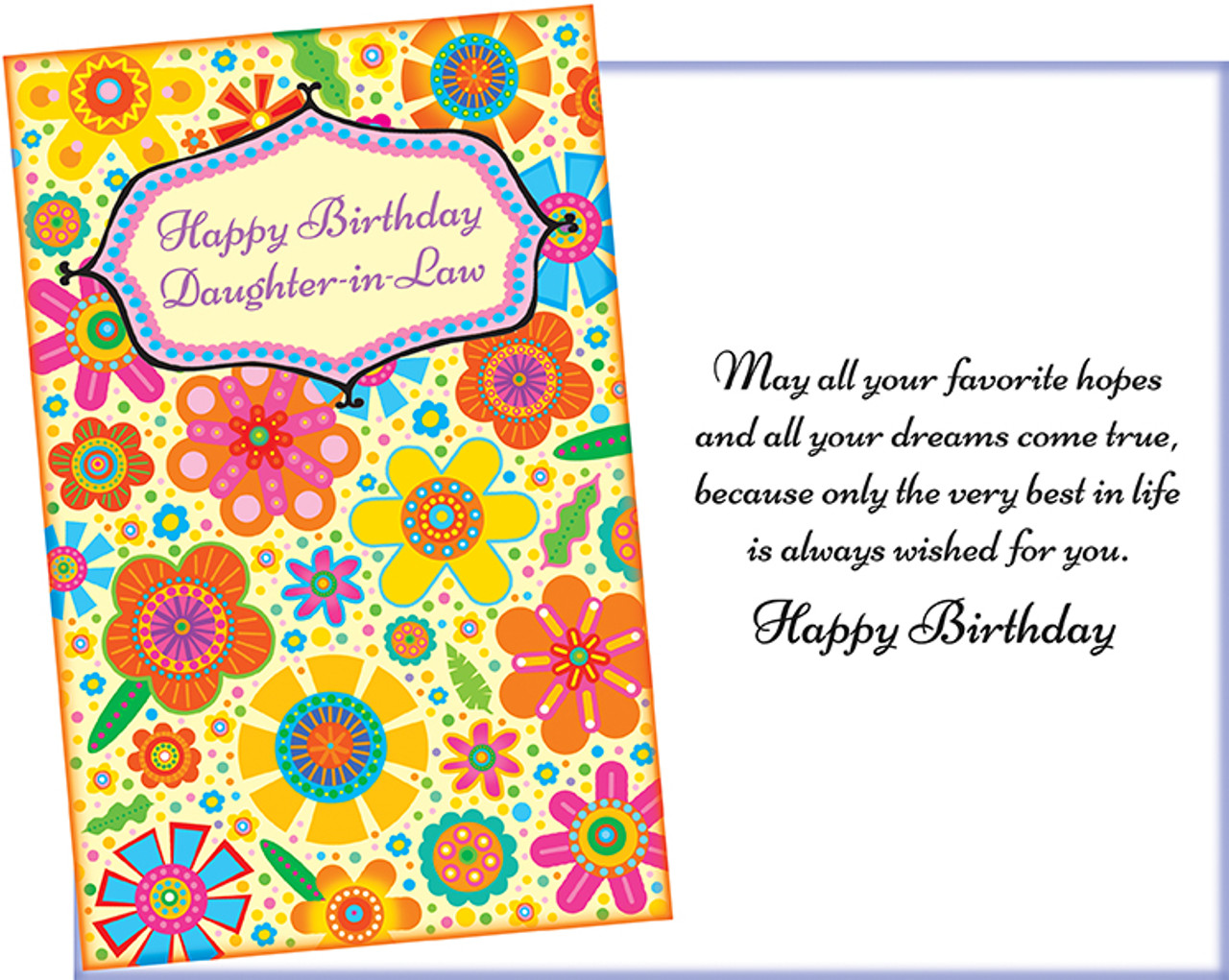 Wholesale Daughter In Law Greeting Card