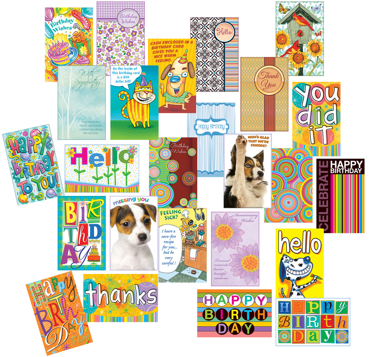 Wholesale Greeting Cards Variety Pack