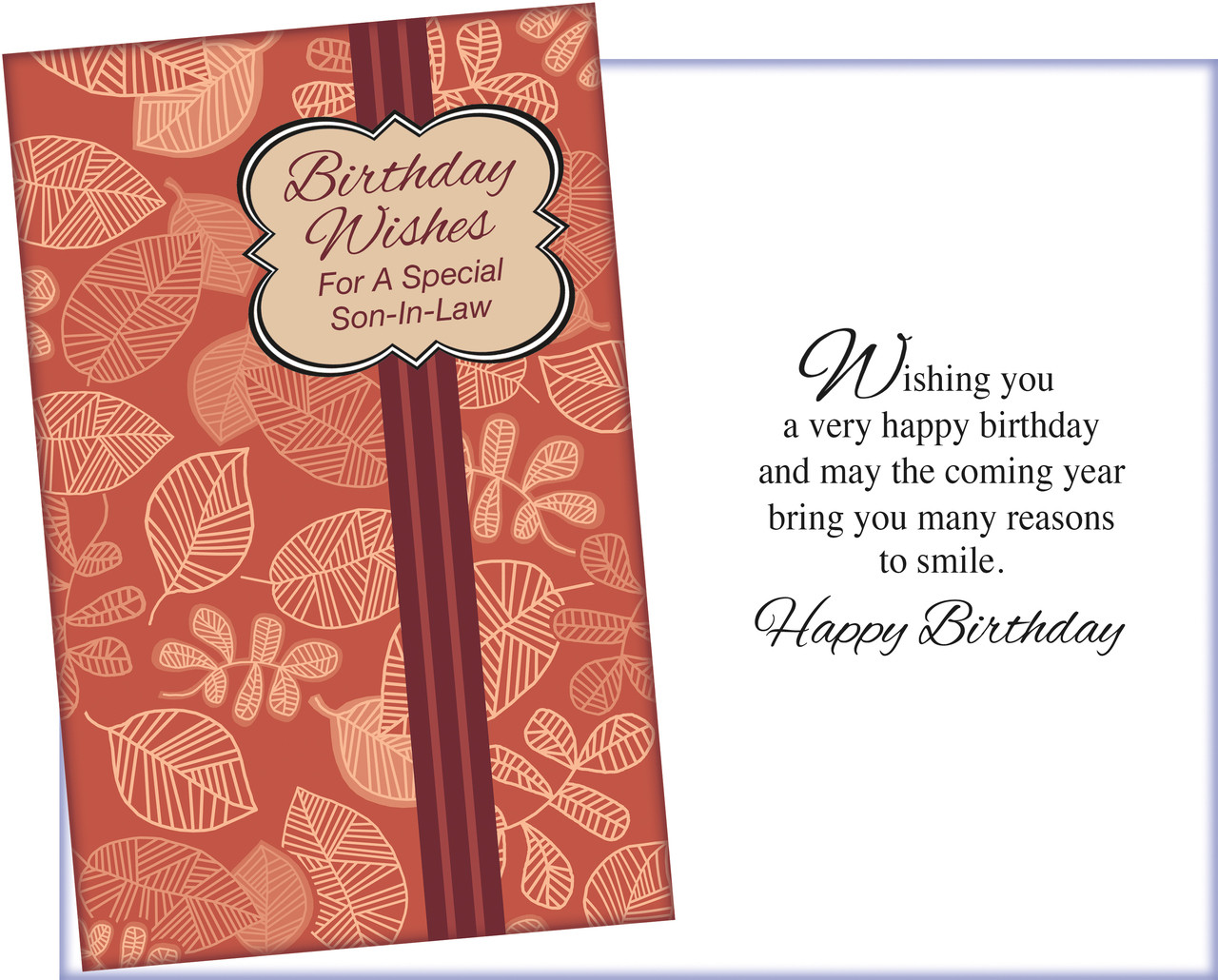 95643 Six Birthday Son In Law Greeting Cards Six Envelopes