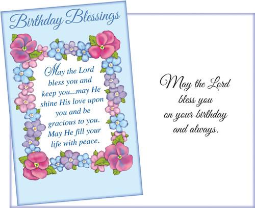 Religious Birthday Greeting Card