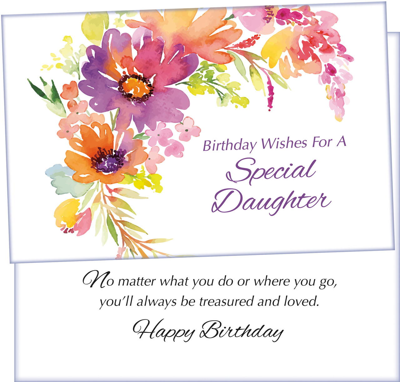 70166 Six Birthday Daughter Cards With Envelopes