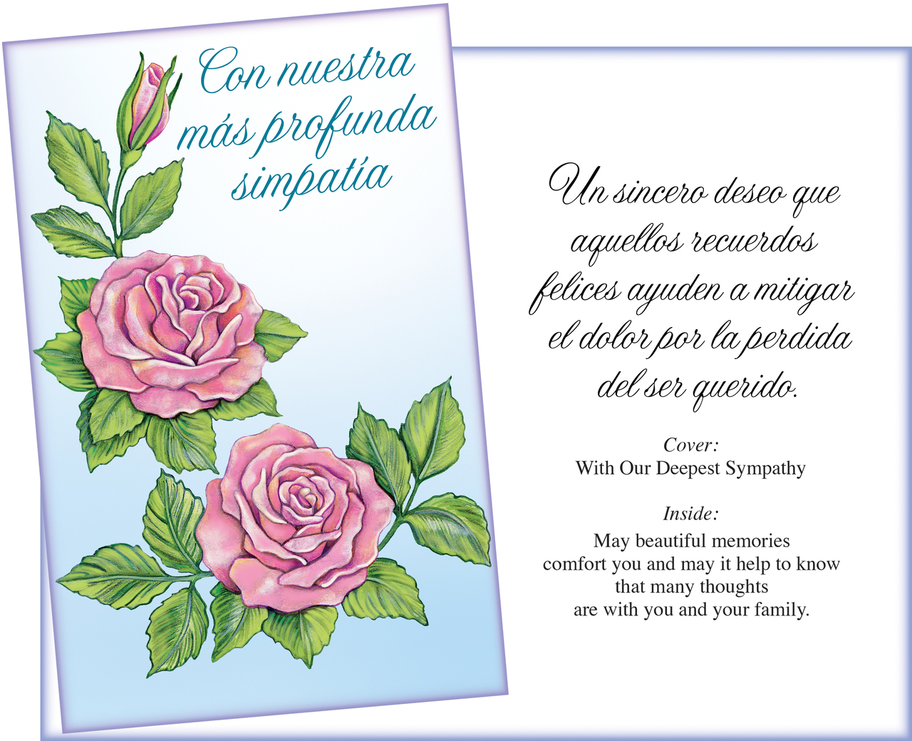 spanish get well and sympathy card assortment 10. spanish ...
