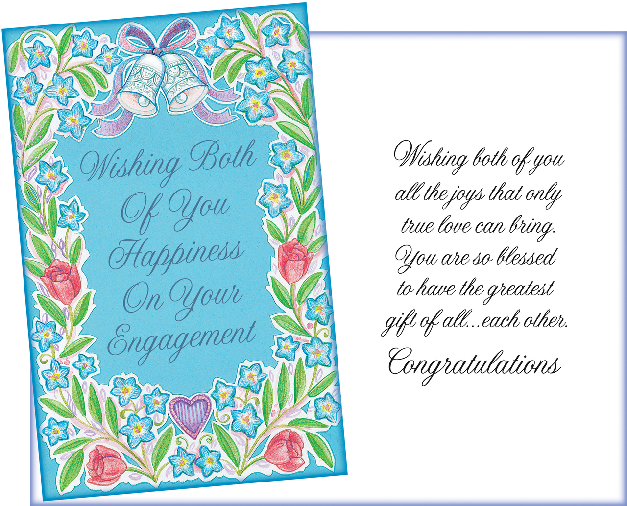 Card Engagement Congratulations Wishes