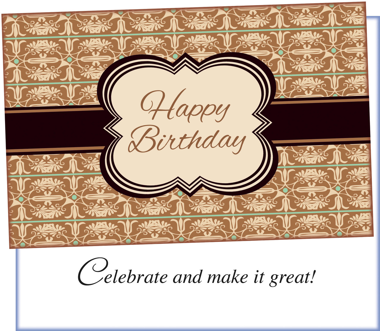 94021 Six Birthday Greeting Cards With Envelopes