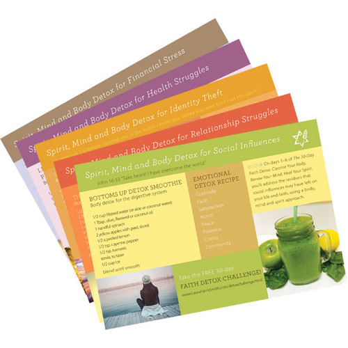 Faith Detox Cards