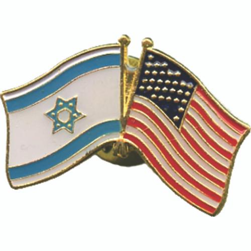 Israel and USA Flag Lapel Pin