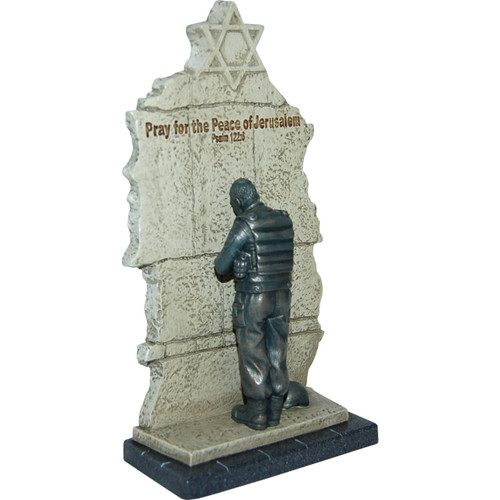 Soldier at the Wall, sculpture
