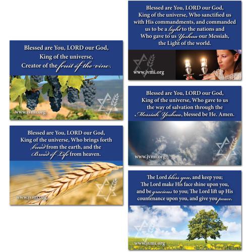 Shabbat Blessings Magnets