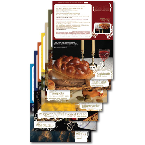 Biblical Feasts Tent Cards (7 Count)