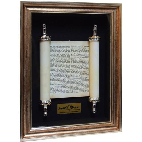 Torah Scroll Shadow Box
