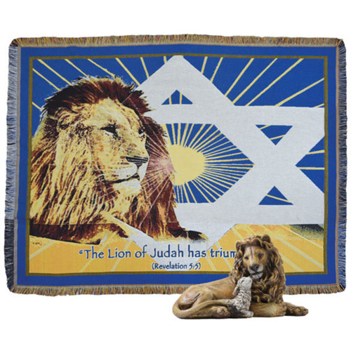 Lion of Judah Afghan Package (1951)