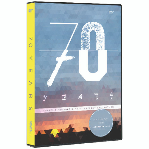 70 Years: Israel's Prophetic Past, Present, And Future DVD